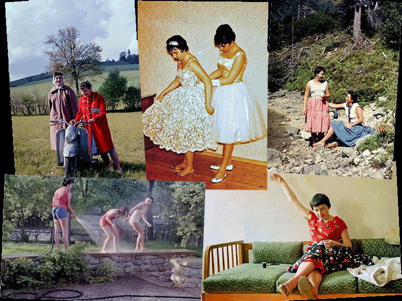 Alcune foto autentiche anni 50, sono quella più piccola