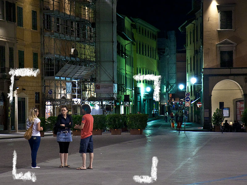 Figline by night, una bella serata a Figline in Piazza Marsilio Ficino