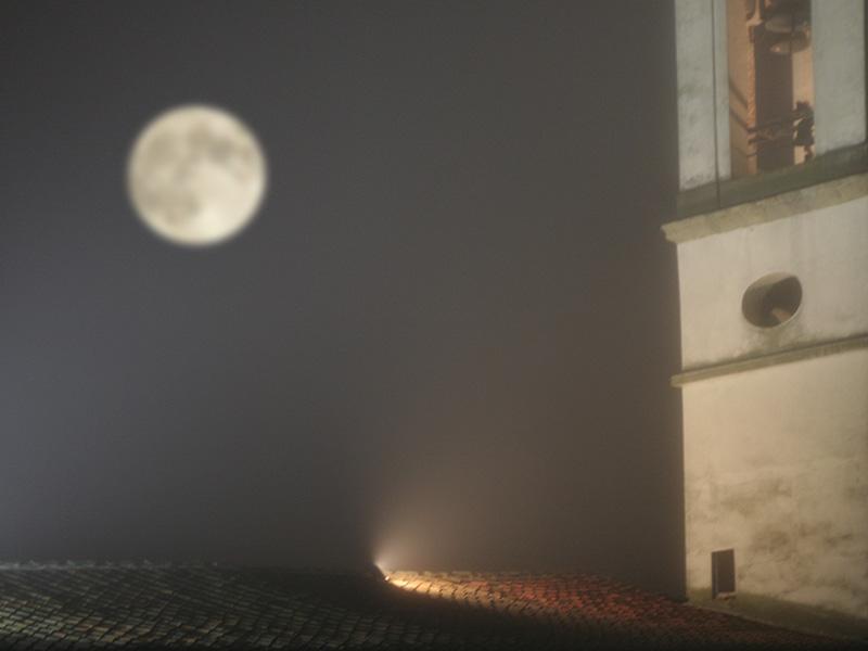 In autunno nel Valdarno spesso ce la nebbia fitta