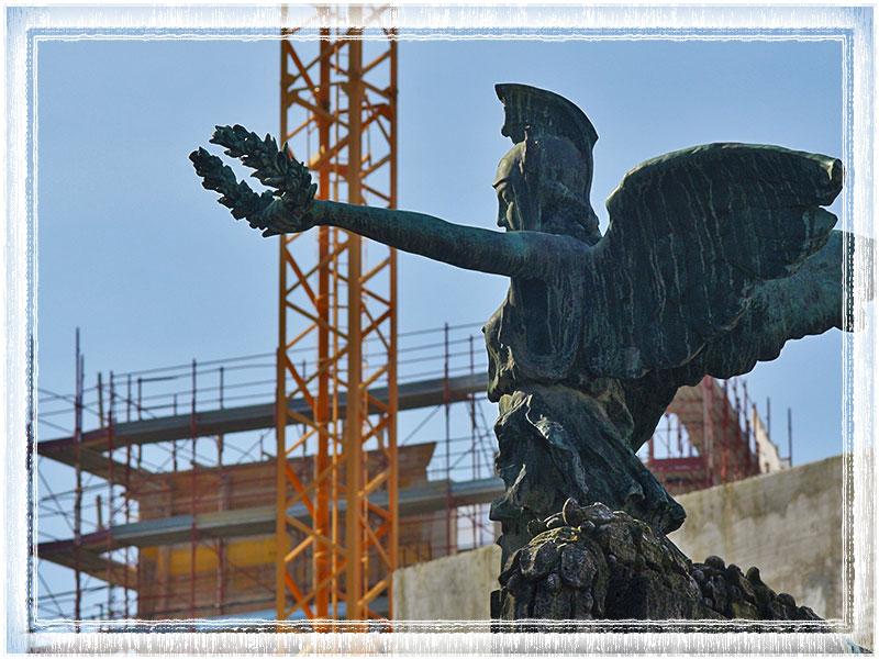 Statua della Vittoria dedicata ai caduti della prima guerra mondiale