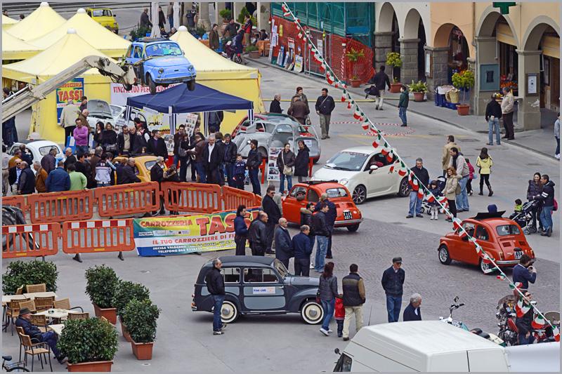 Festa della cioccolata e raduno dei cinquecento storici a Figline in Piazza Ficino