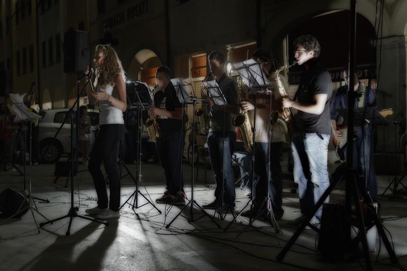Concerto finale della scuola di musica del teatro Garibaldi a Figline
