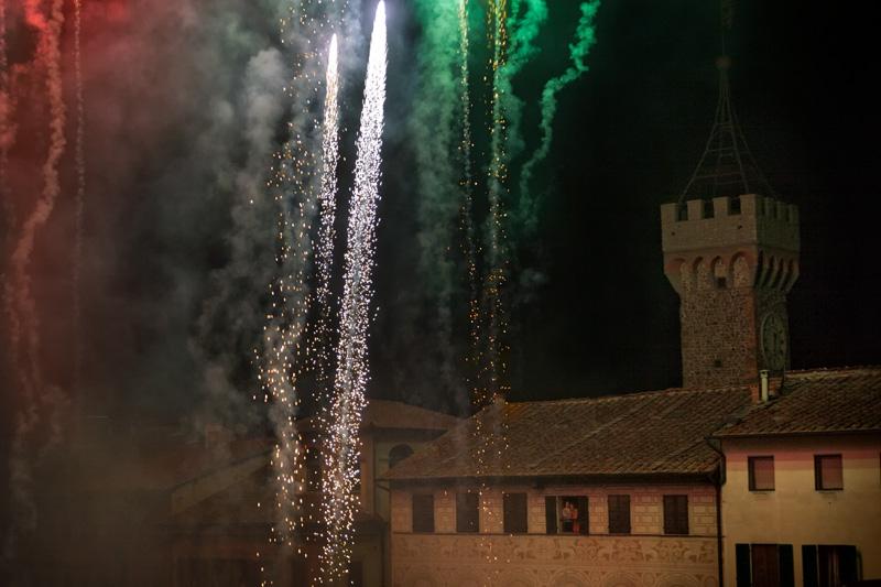Festa del Perdono e Palio di San Rocco, spettacolo pirotecnico di chiusura
