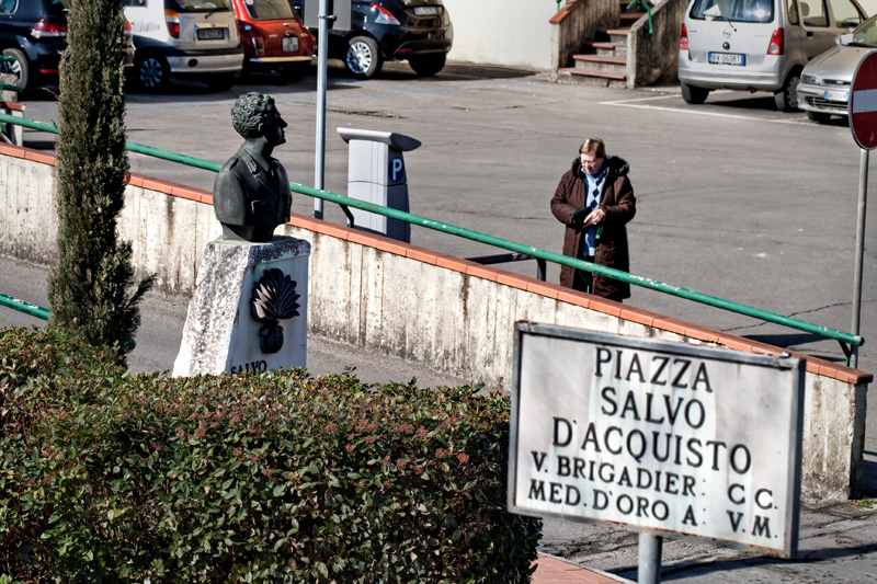 Piazza Salvo D'Acquisto a Figline Valdarno