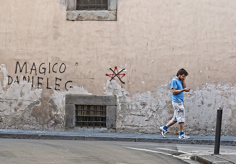 Facciata dipinta Magico Daniele G